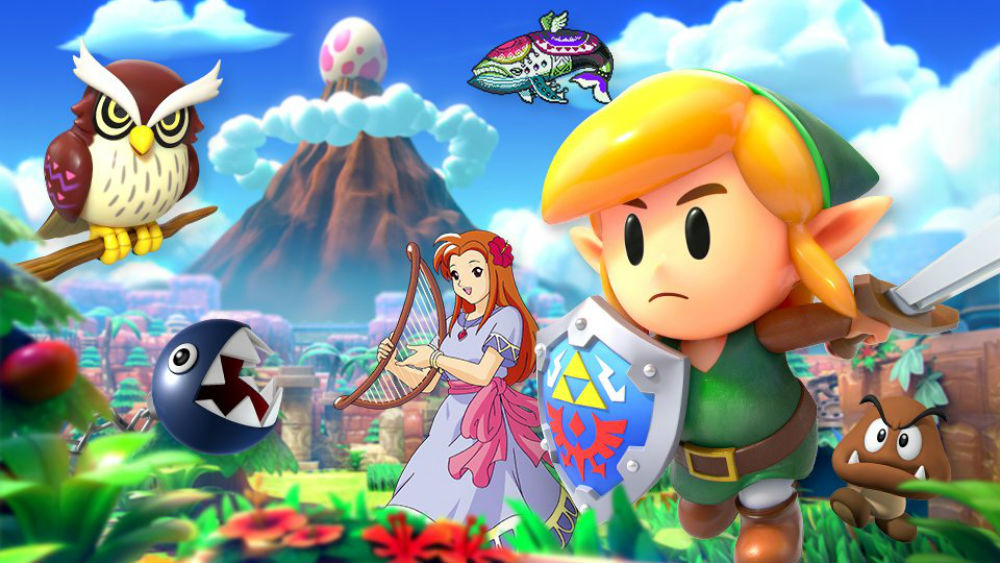 Nintendo is celebrating the Zelda: Link's Awakening remake in Smash Ultimate with new spirits screenshot