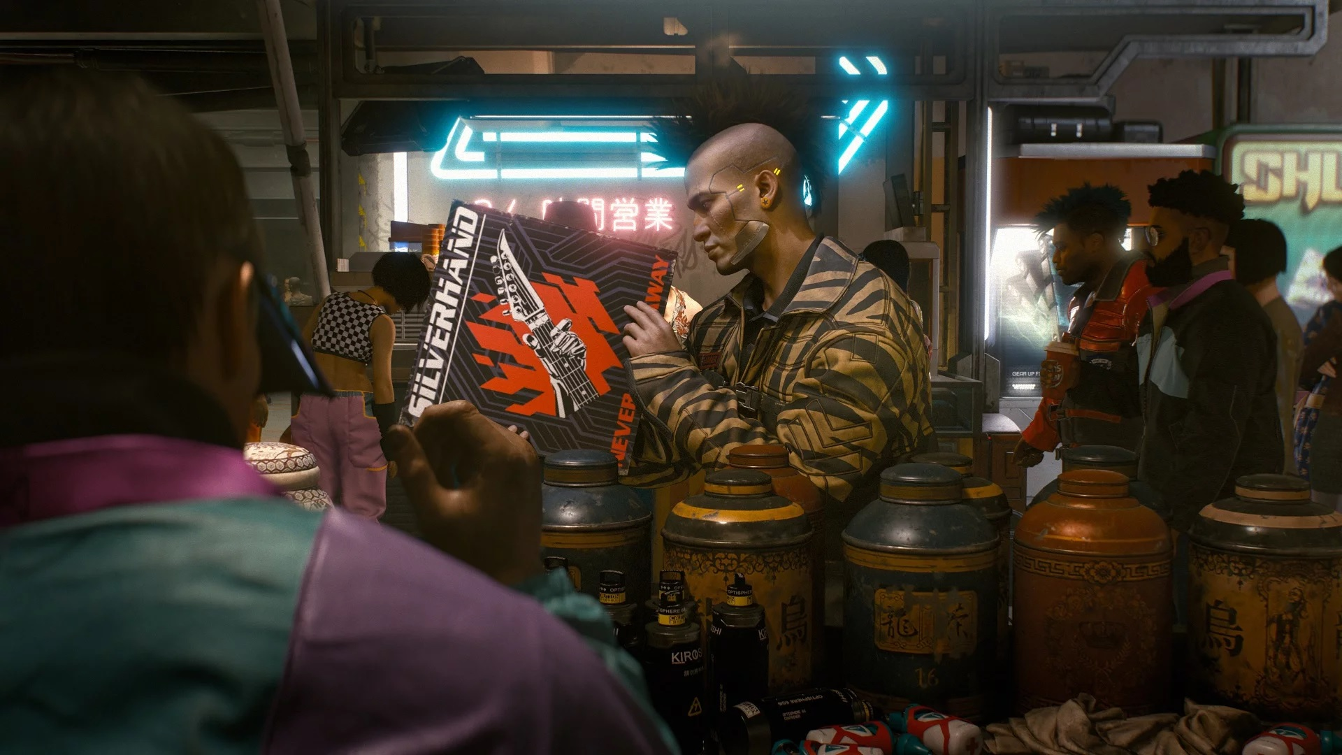 Cyberpunk 2077 developer: 'Right now, we're fully focused on current-gen consoles' screenshot