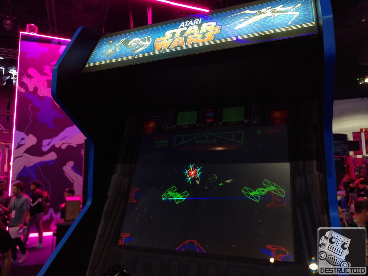 Classic Atari Star Wars arcade games are back in this new