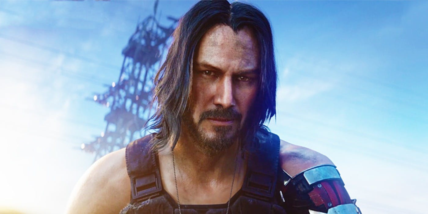 CD Projekt Red says 'It was Keanu or no one' for Cyberpunk 2077 screenshot