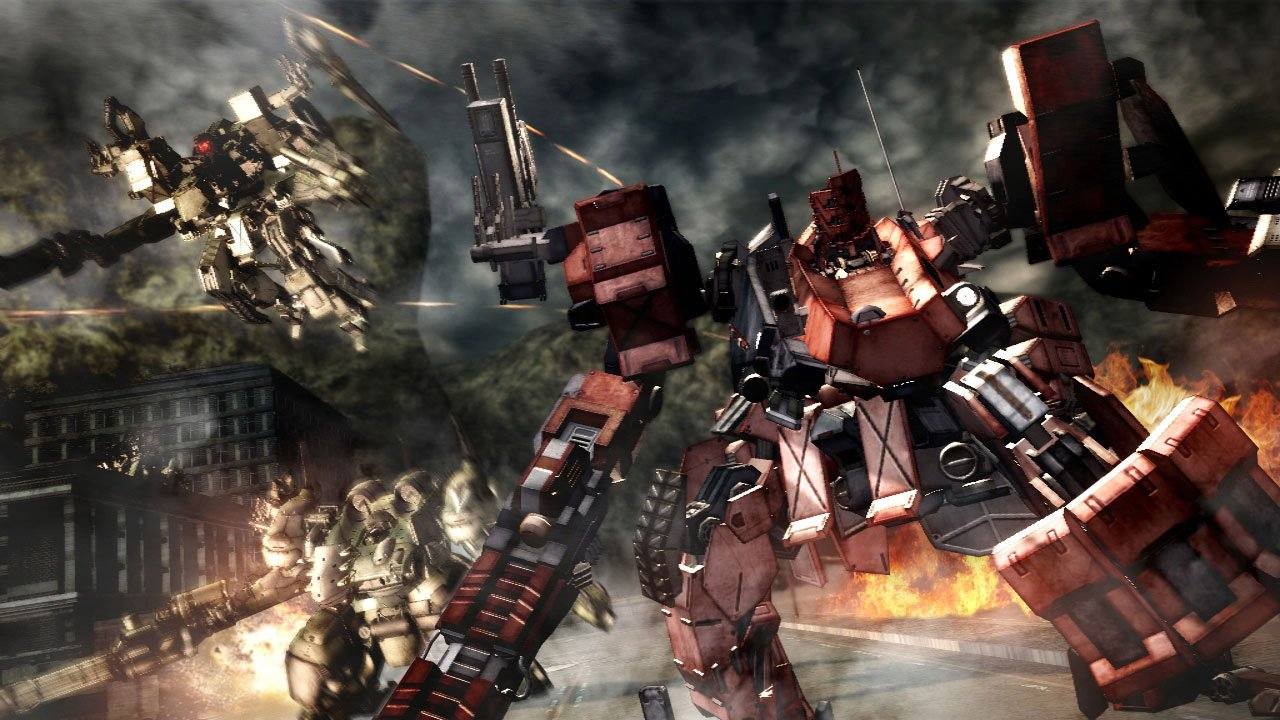 From Software explains how it would approach a new Armored Core screenshot
