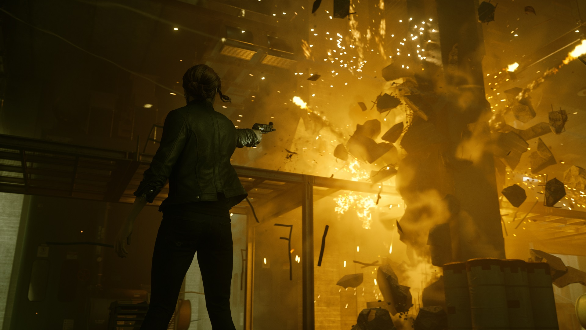 Control proves Remedy still knows how to make one hell of an action game screenshot