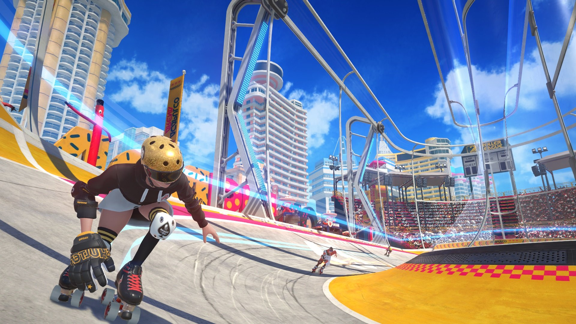 Ubisoft's Roller Champions isn't quite fun and I'm not sure why screenshot