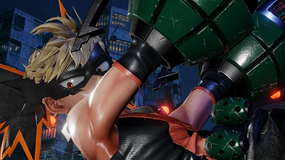 Check out My Hero Academia's Bakugo in Jump Force