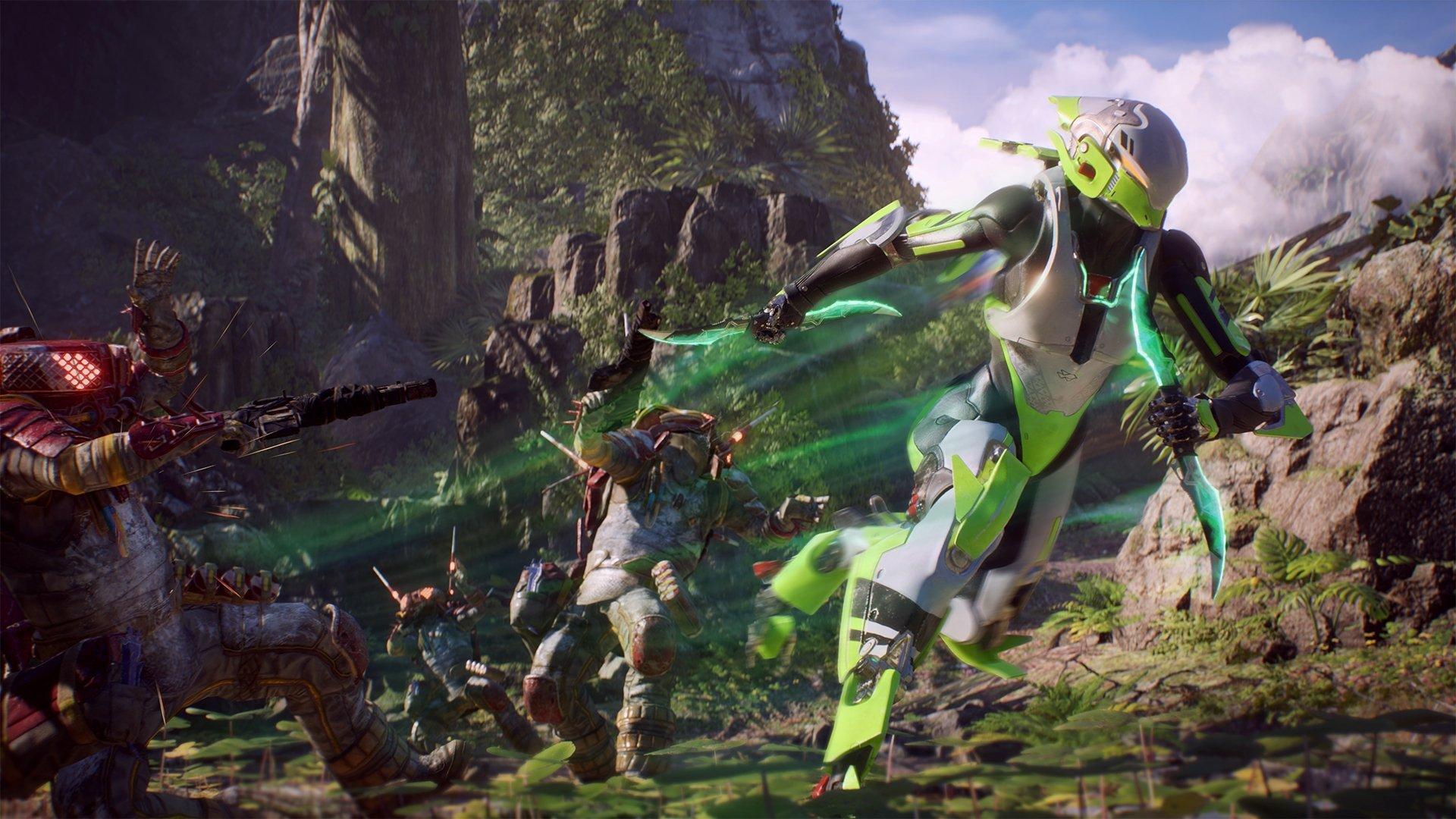EA CEO says Anthem isn't dead, but only gives us vague promises of life screenshot