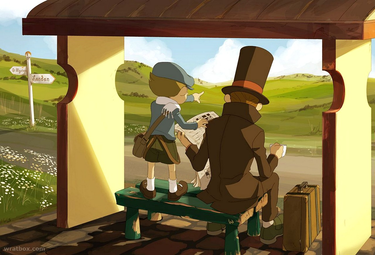Professor Layton and the Diabolical Box HD is now available for mobile devices screenshot