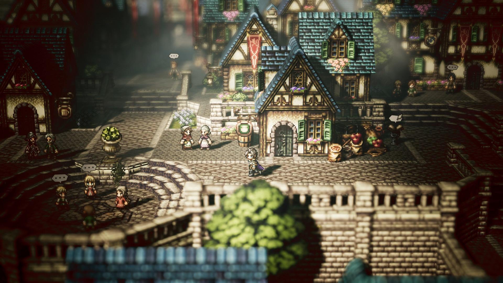 PC Port Report: Octopath Traveler screenshot