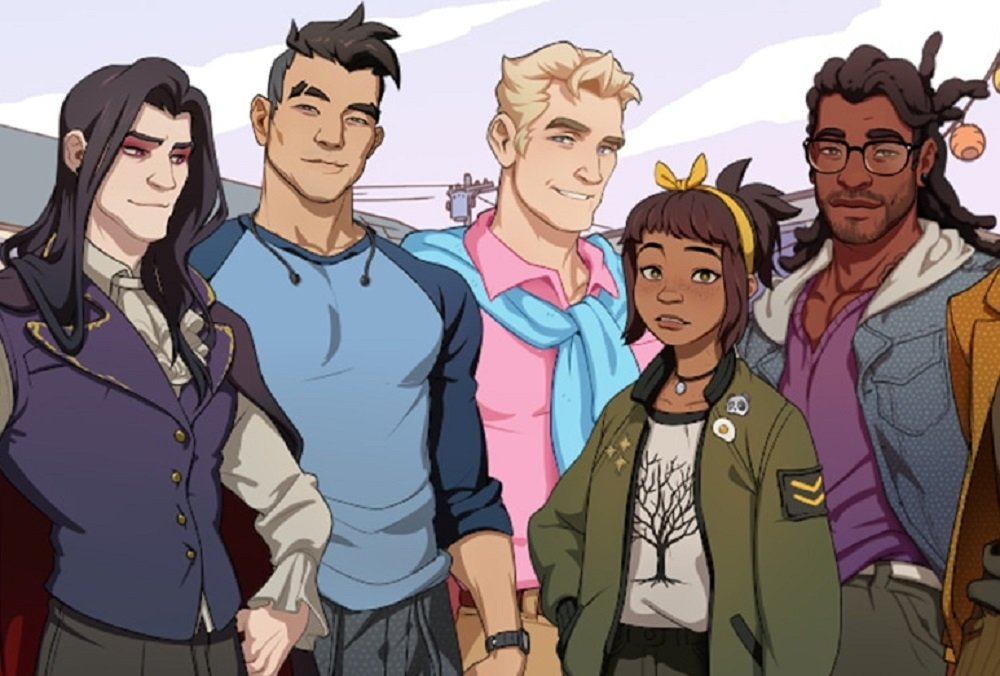Dream Daddy: Dadrector's Cut coming to mobile and Nintendo Switch screenshot