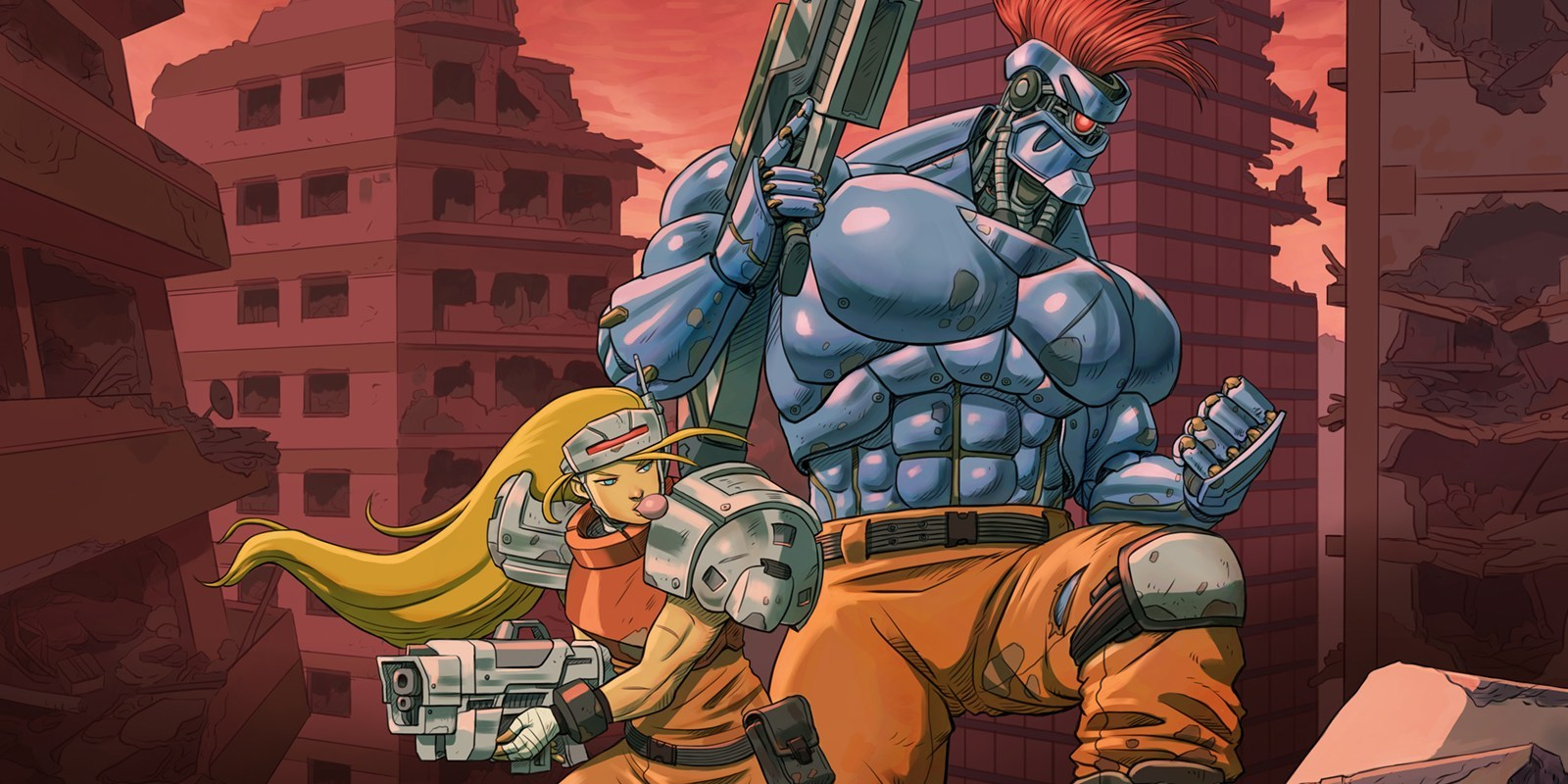 Blazing Chrome gives us our Contra fix next month screenshot