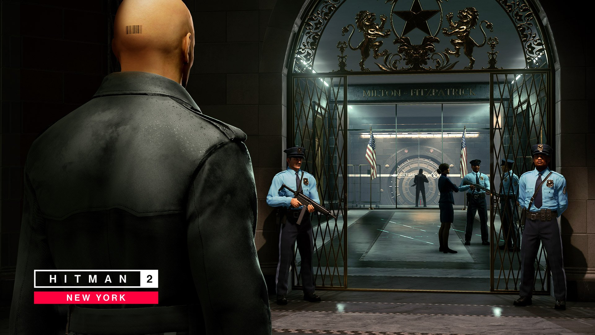 Hitman 2's New York bank level is full of possibilities screenshot
