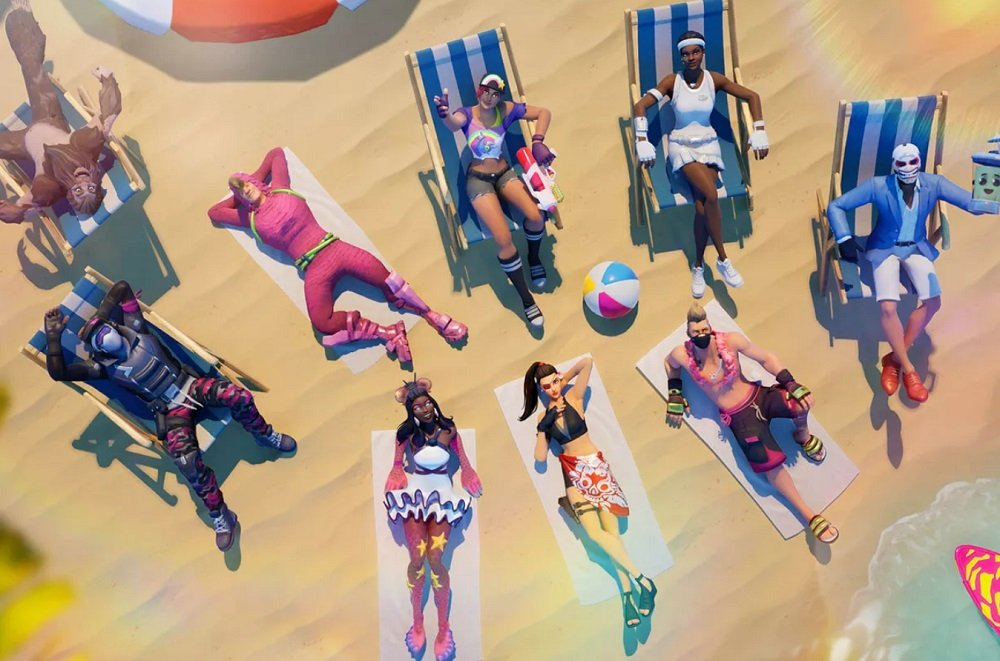 Prepare for some fun in the sun with Fortnite's summer event screenshot