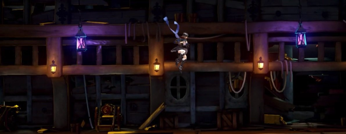 Here's a glimpse at the disappointing Bloodstained Switch port compared to other platforms