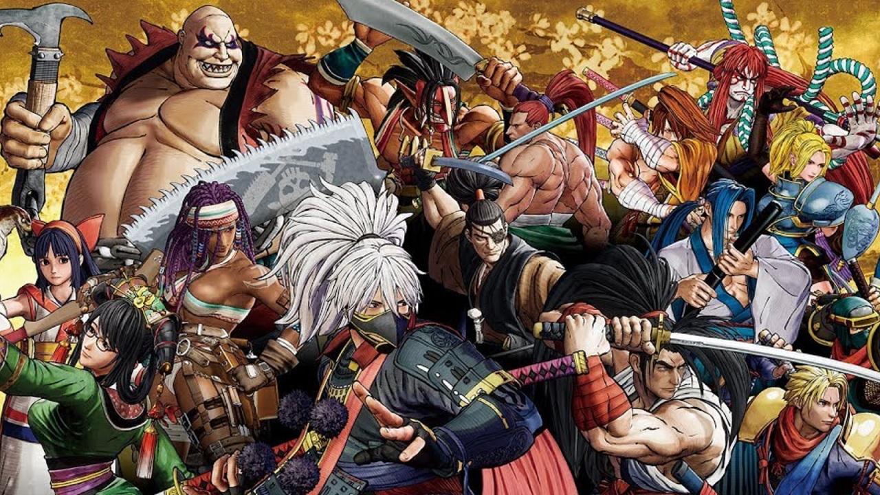 SNK announces full contents of Samurai Shodown's season pass