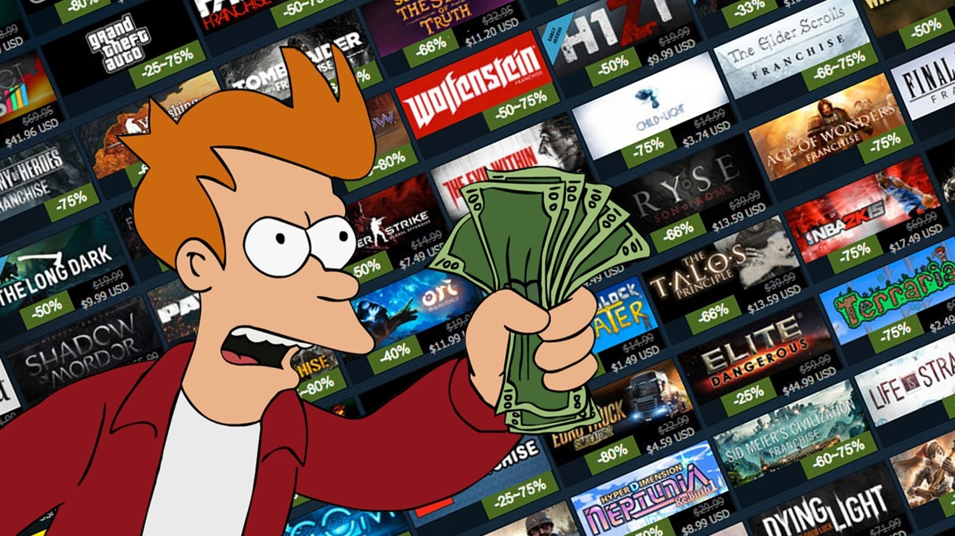 Say goodbye to your wallet, because the Steam Summer Sale has just started screenshot
