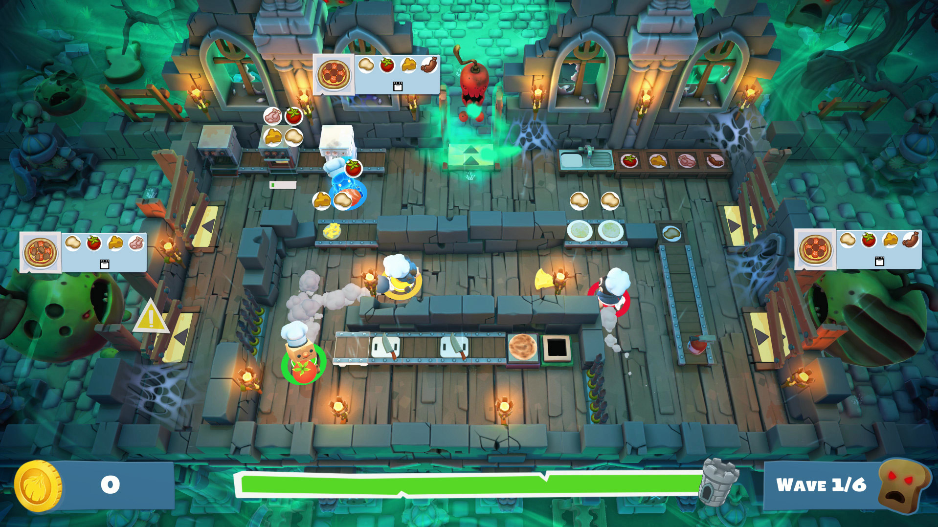 Review: Overcooked 2 - Night of the Hangry Horde