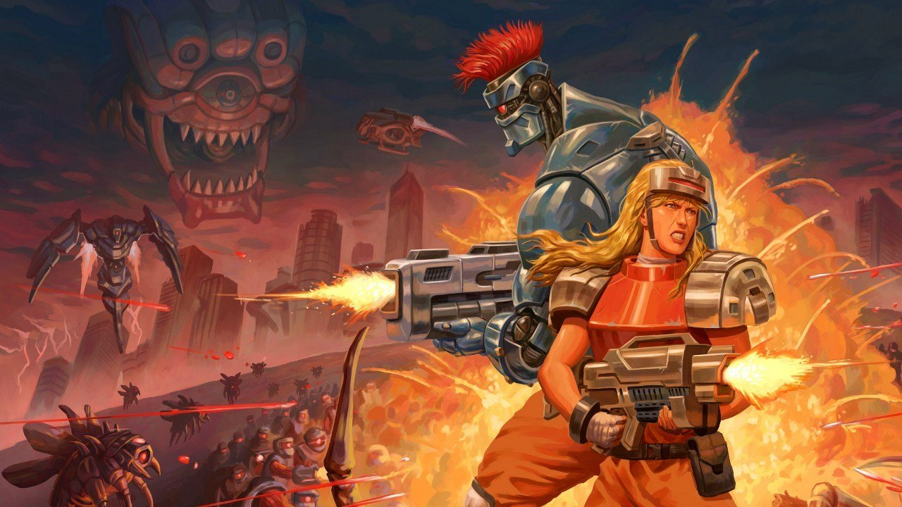 Review: Blazing Chrome screenshot
