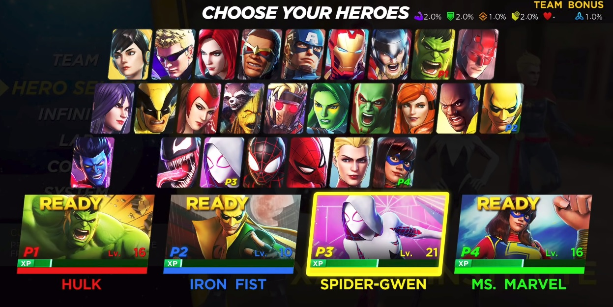 Who do you want to see in Marvel Ultimate Alliance 3 that didn't