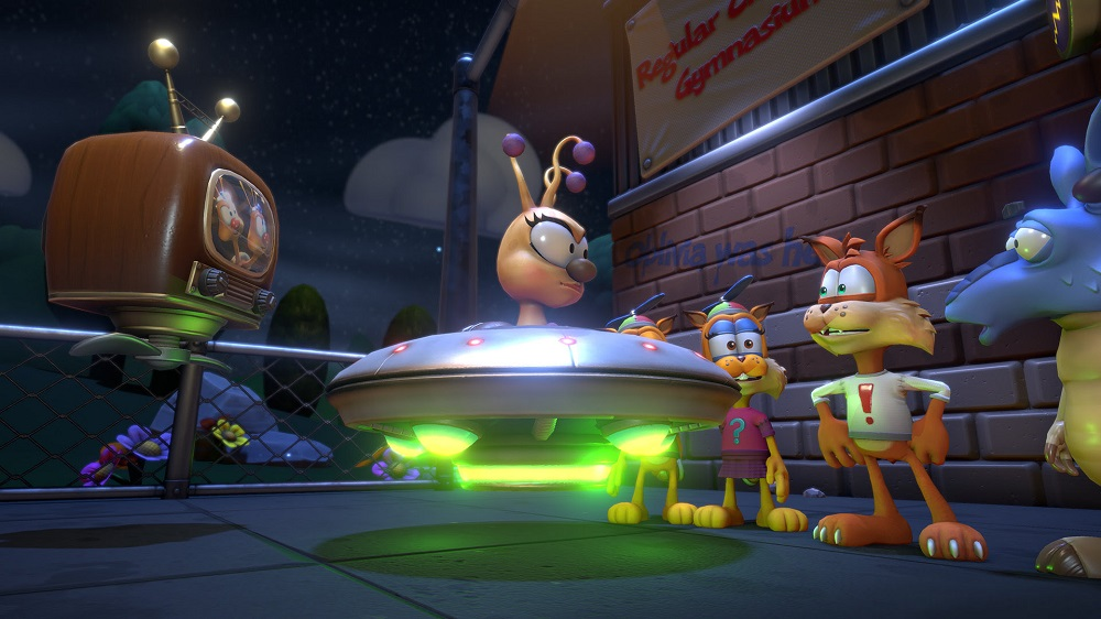 Bubsy: Paws on Fire will jog onto Nintendo Switch August 29 screenshot