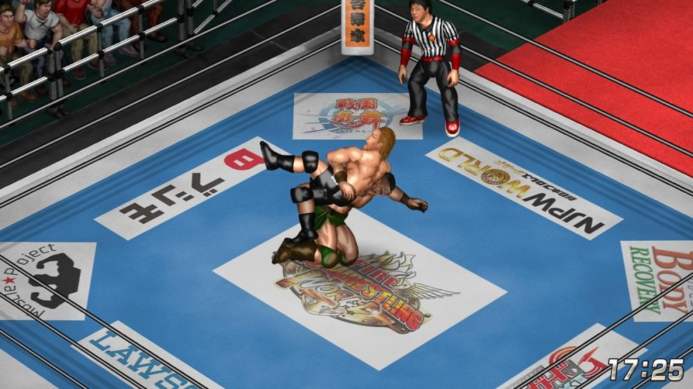 Fire Pro Wrestling World's latest NJPW DLC is now available screenshot