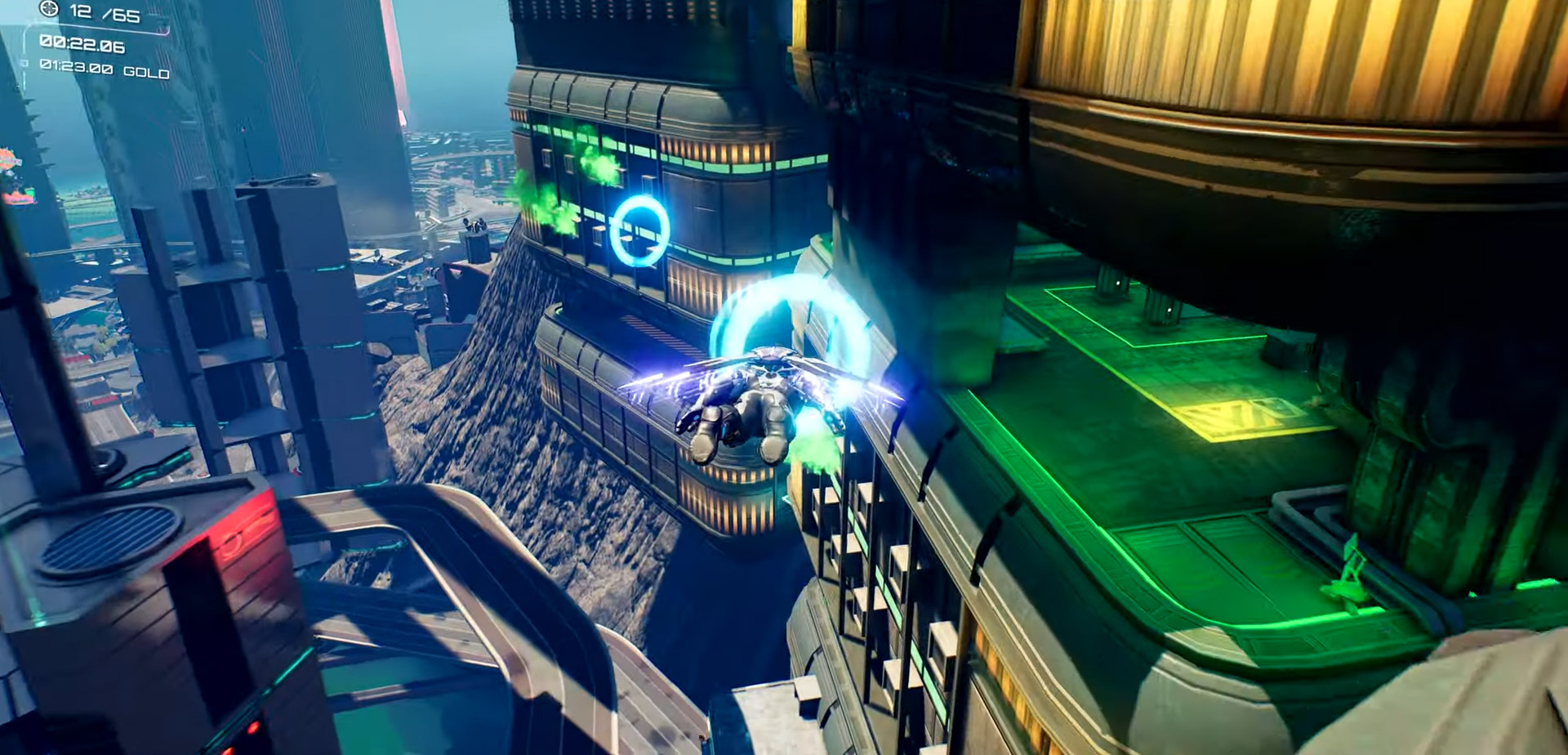 Crackdown 3 now has a wingsuit and more achievements screenshot