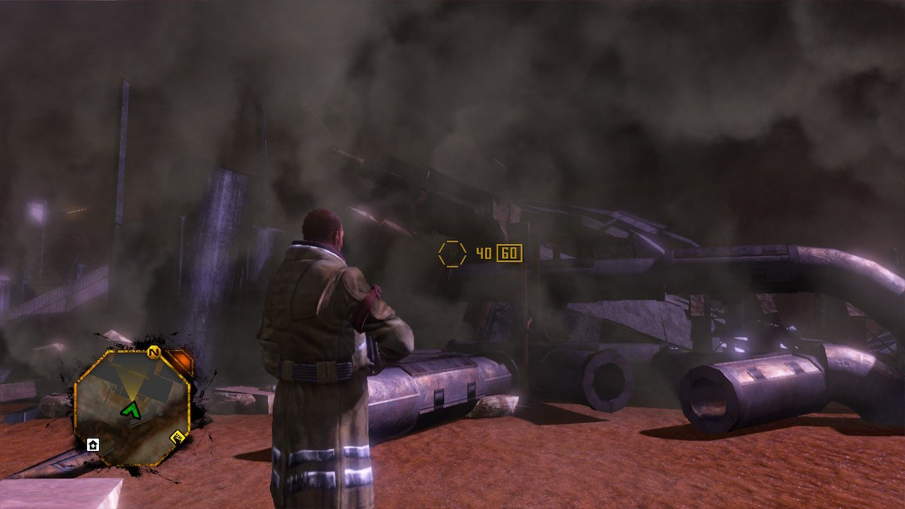 Red Faction: Guerrilla on Switch is a decent enough port screenshot