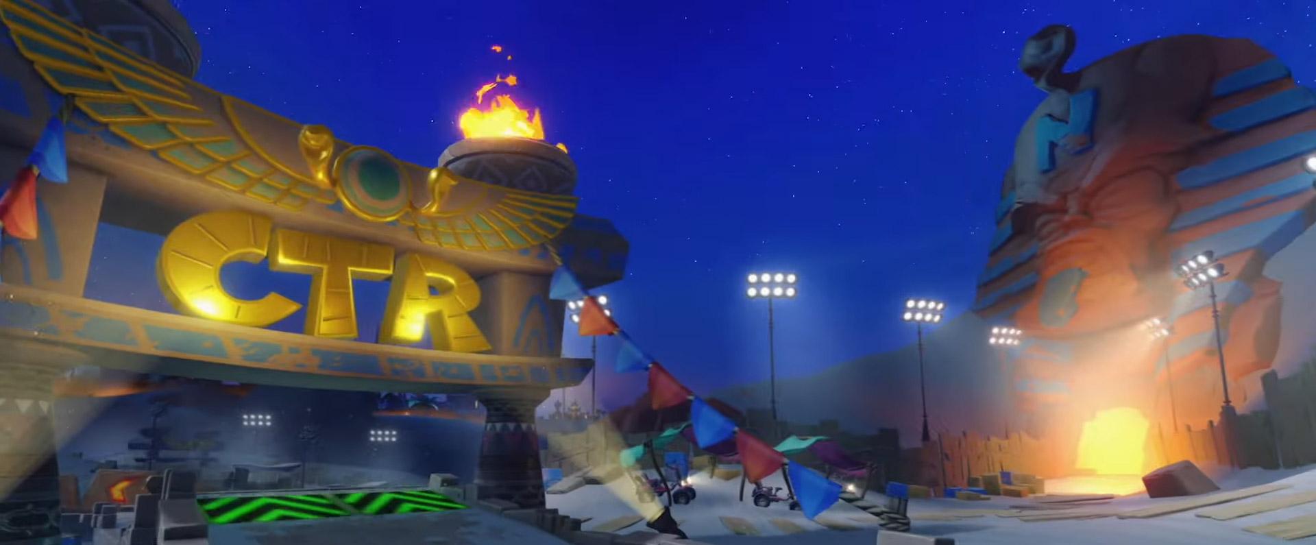The first Grand Prix rewards for Crash Team Racing