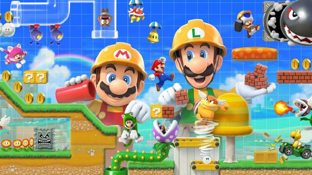 Super Mario Maker 2 takes the top spot in the UK Charts screenshot