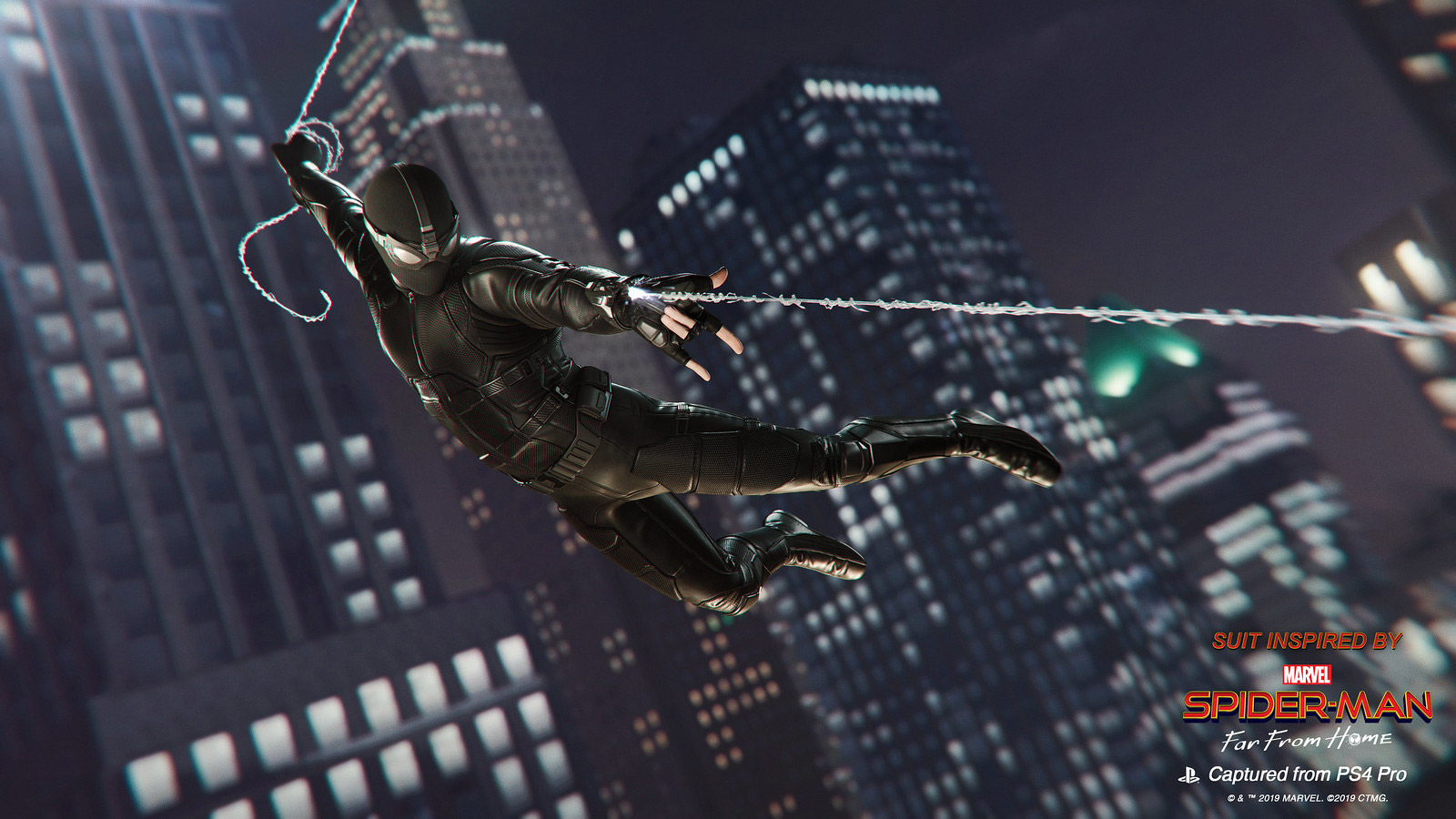 Spider-Man PS4 borrows two new Far From Home suits screenshot