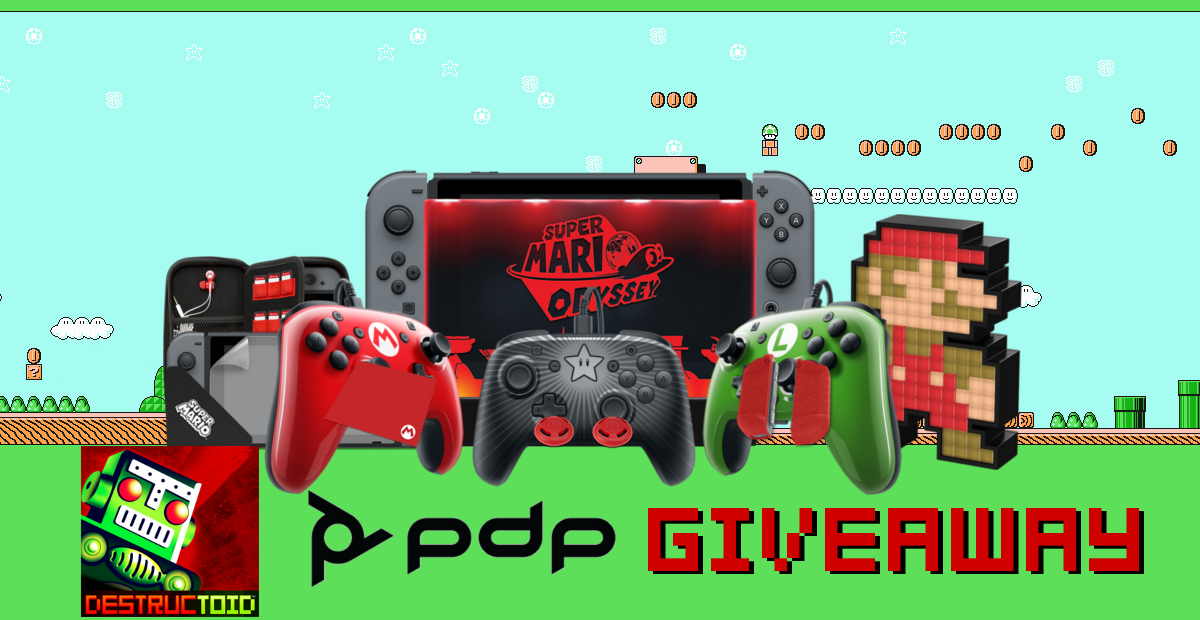 Contest: Win a Mario-themed Switch prize pack from PDP screenshot