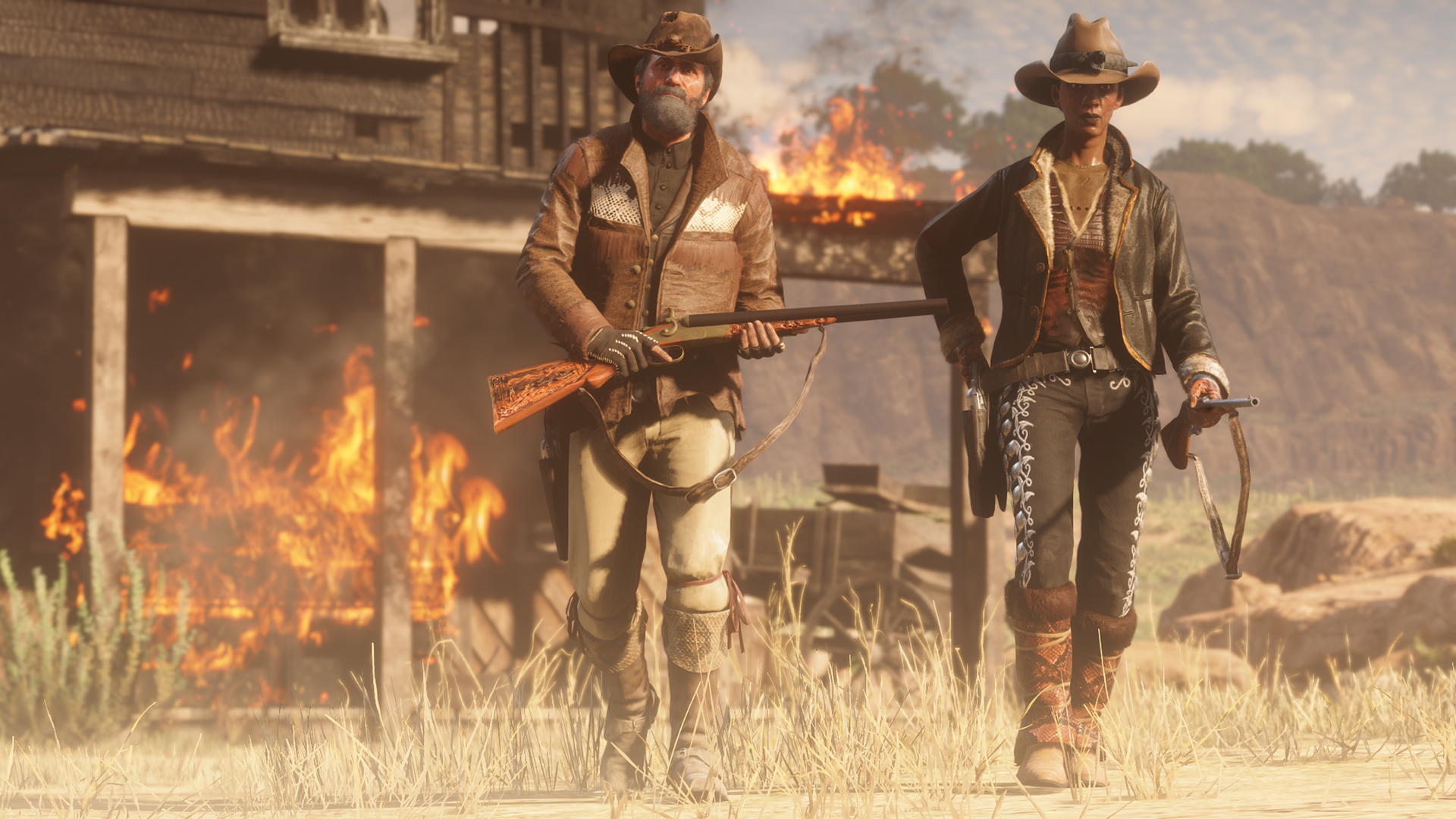 Red Dead Online celebrates America's 2019th birthday with loads of bonus XP and cash screenshot