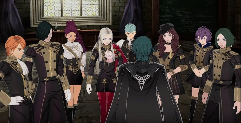 Fire Emblem: Three Houses trailer introduces The Black Eagles