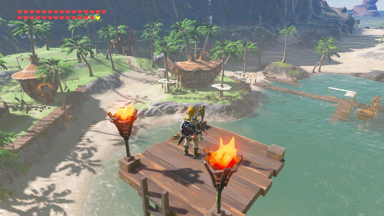 So apparently Wind Waker's outset island is in Zelda: Breath of the Wild