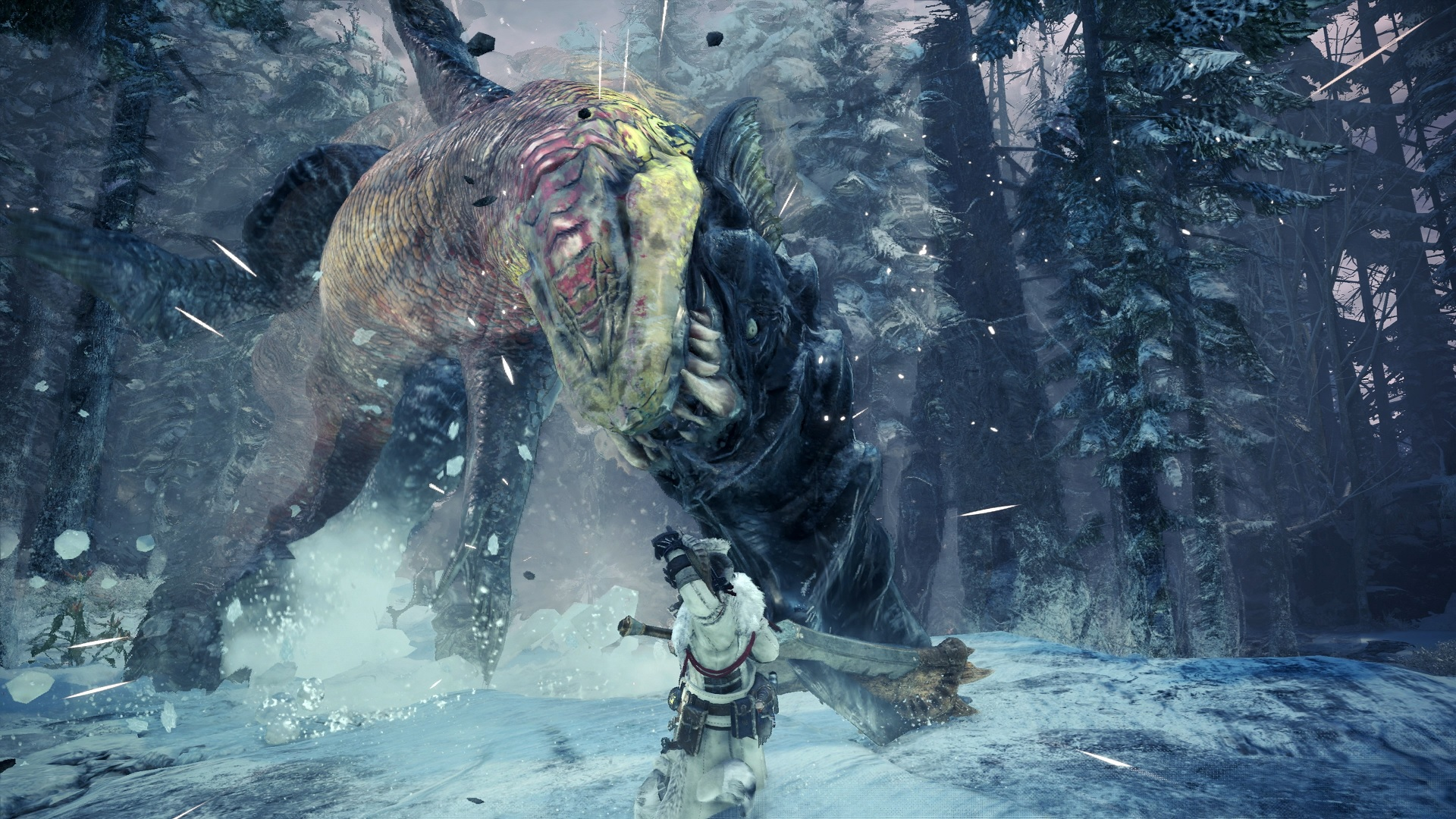 Iceborne will be Monster Hunter World's only expansion screenshot