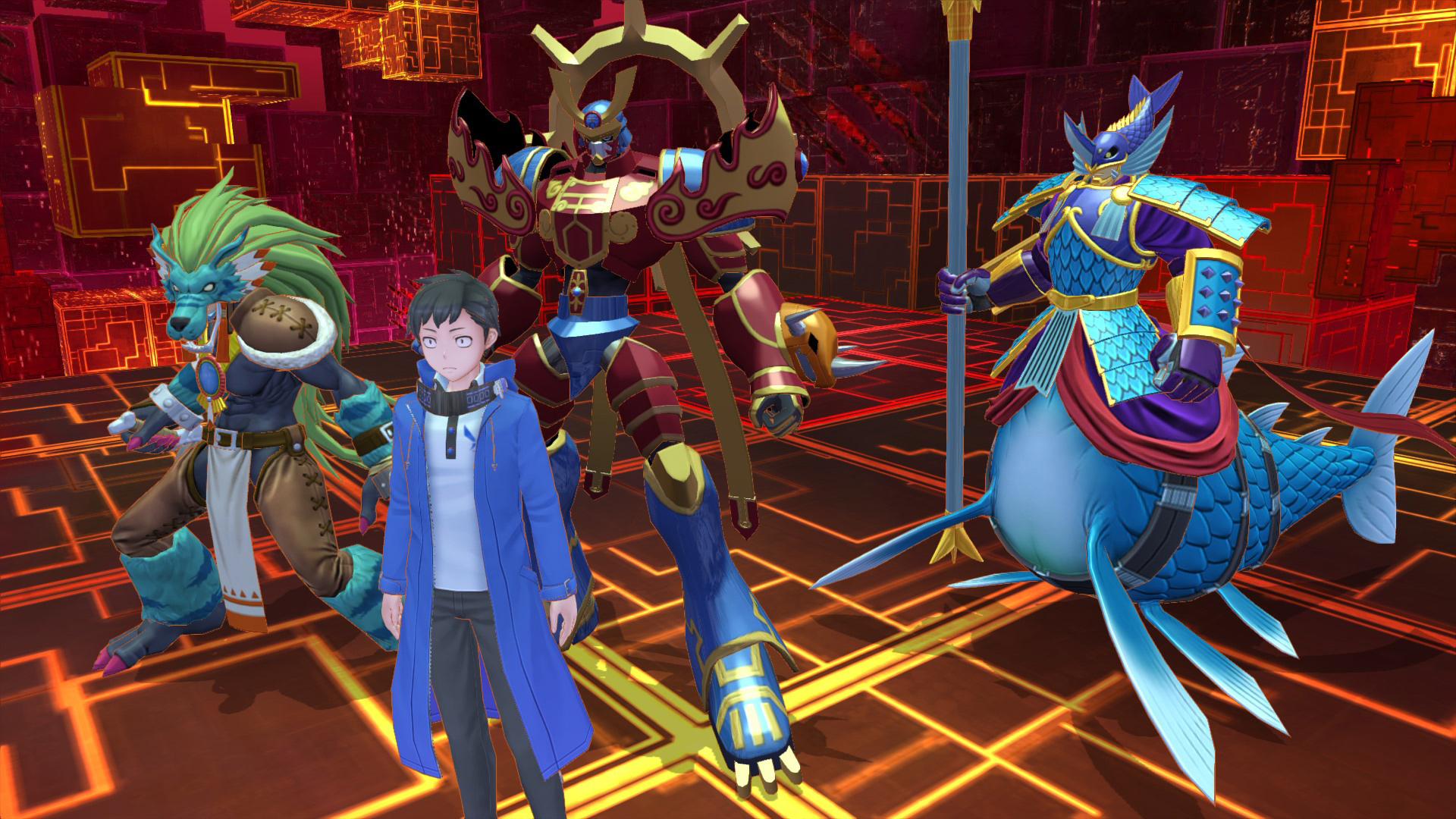 Digimon Story Cyber Sleuth: Complete Edition heads to Switch and PC this fall screenshot