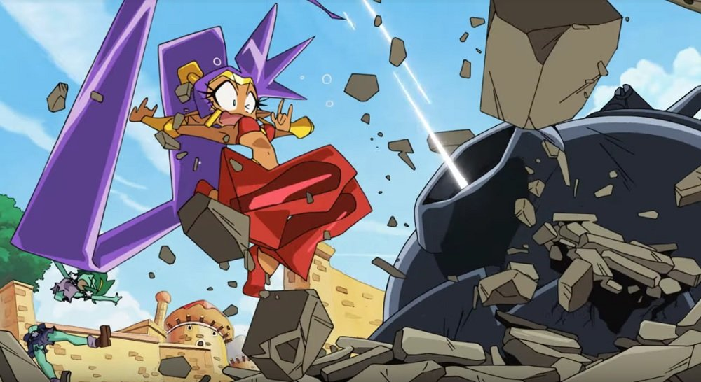 Check out Shantae 5's wild opening anime right here screenshot