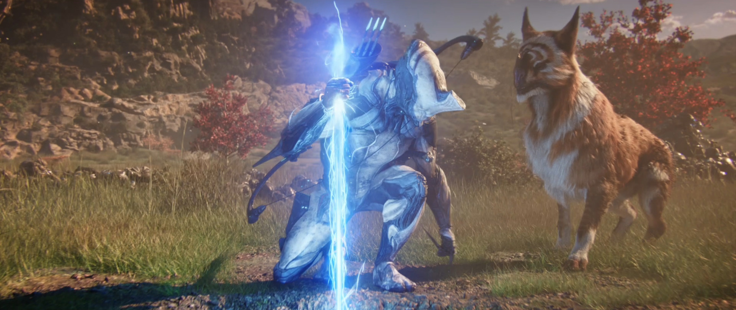 Check out the new Warframe opening cinematic from 10 Cloverfield Lane director Dan Trachtenberg screenshot