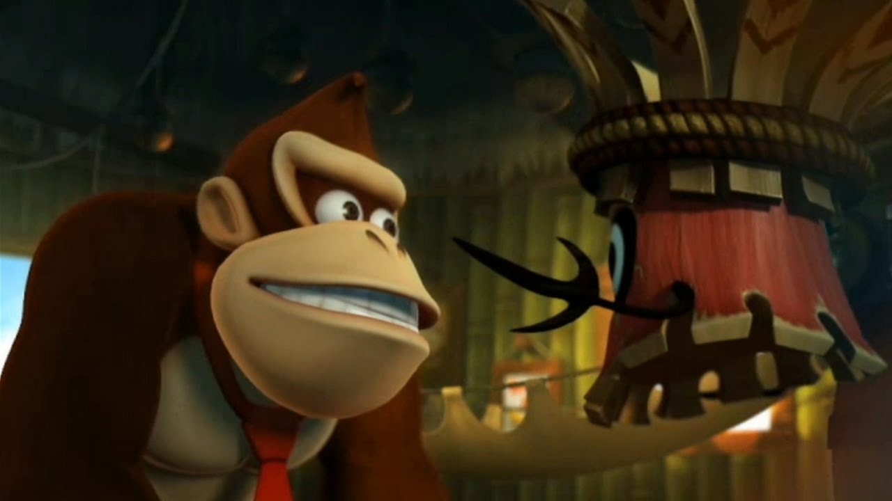 China gets an HD port of Donkey Kong Country Returns on the Nvidia Shield screenshot