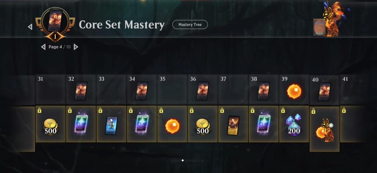 Mtg arena mastery pass