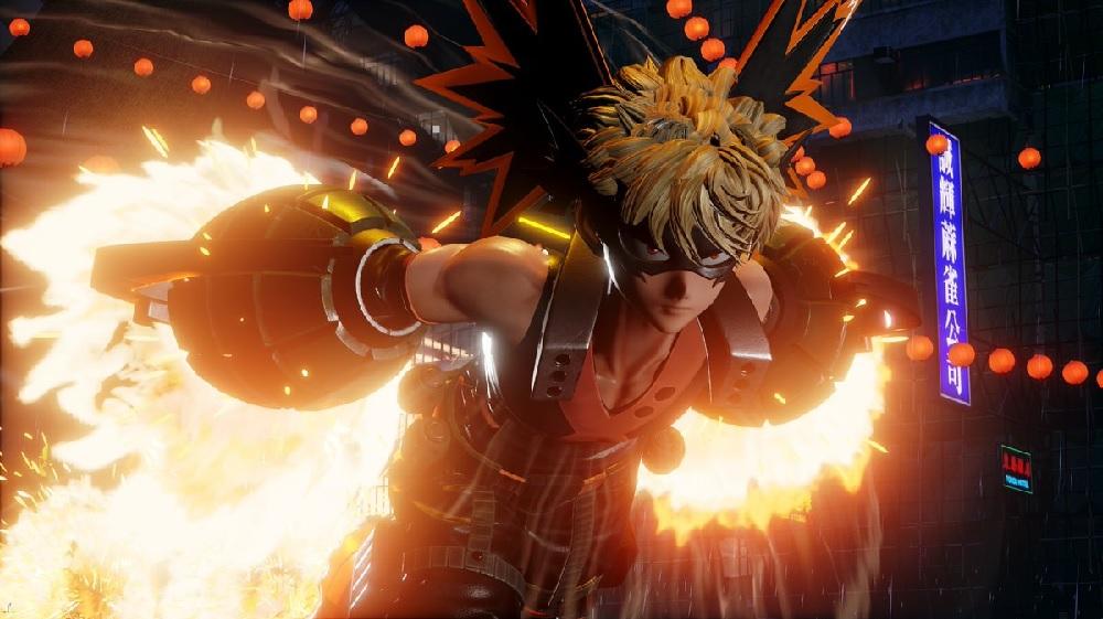 New Jump Force trailer stars My Hero Academia's Katsuki Bakugo screenshot