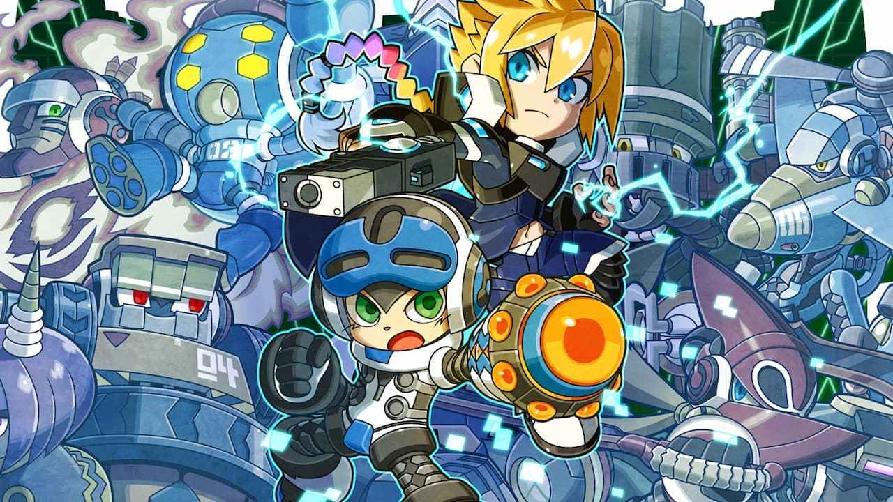 Mighty Gunvolt Burst blasts onto Steam later this month