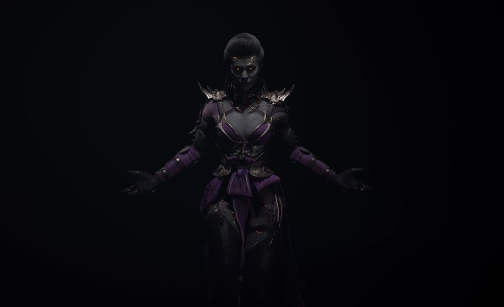 Here comes the bride: Our first look at Sindel in Mortal Kombat 11 screenshot