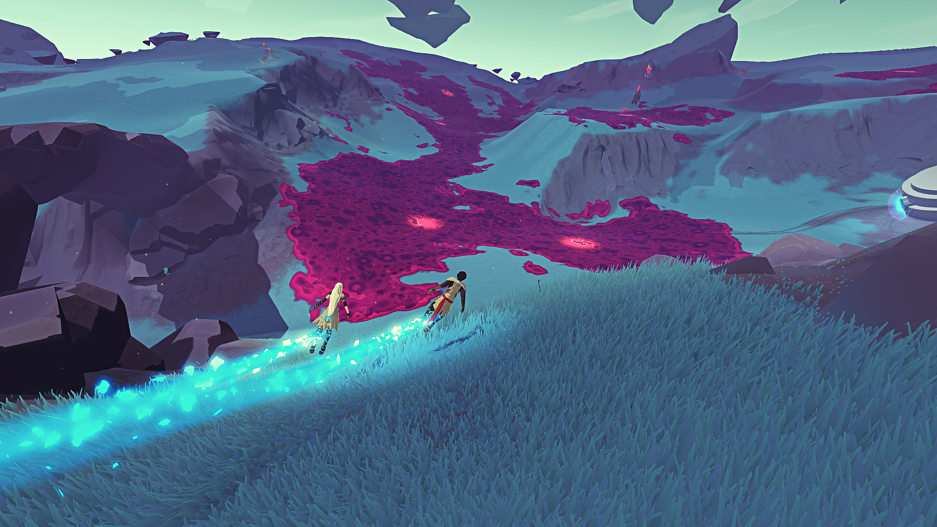 Haven is a 'breath of fresh air' after Furi screenshot