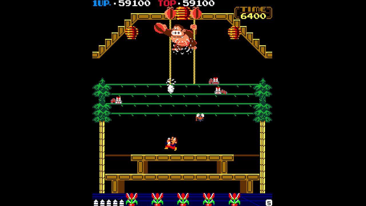 Wrecking Crew, Donkey Kong 3, NES rewind feature headline Switch Online this month screenshot