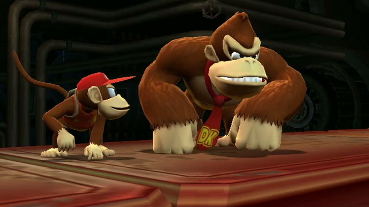 Donkey Kong hugging Diddy in a hidden barrel animation is the cutest thing you'll see all week screenshot