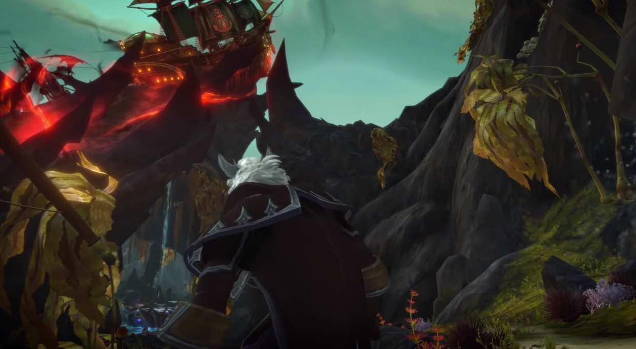 World of Warcraft's newest raid features long-time baddie Queen Azshara screenshot