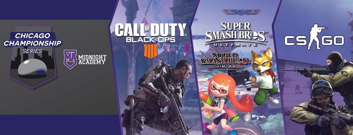 Calling Chicago esports fans! Black Ops 4, CS:GO, Smash, and Melee tournaments are heading there soon