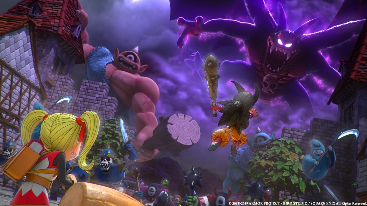Review: Dragon Quest Builders 2 screenshot
