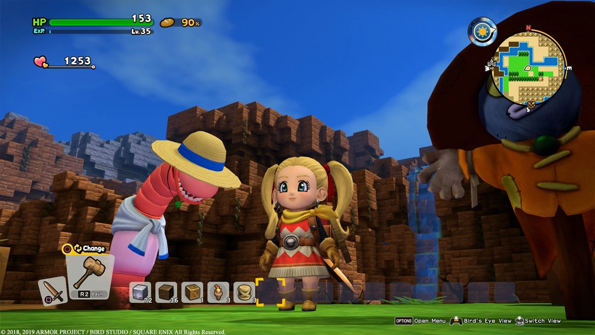 Dragon Quest Builders 2 Shares Its Launch Trailer