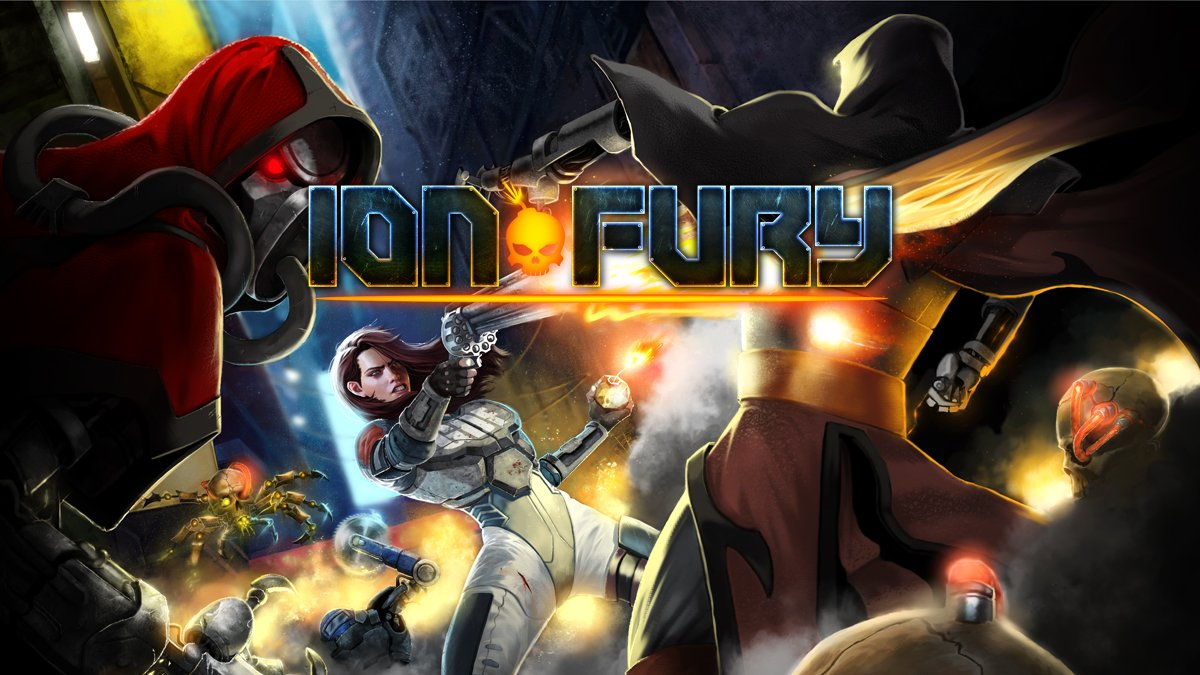 Iron Maiden wins as 3D Realms renames its upcoming shooter Ion Fury screenshot
