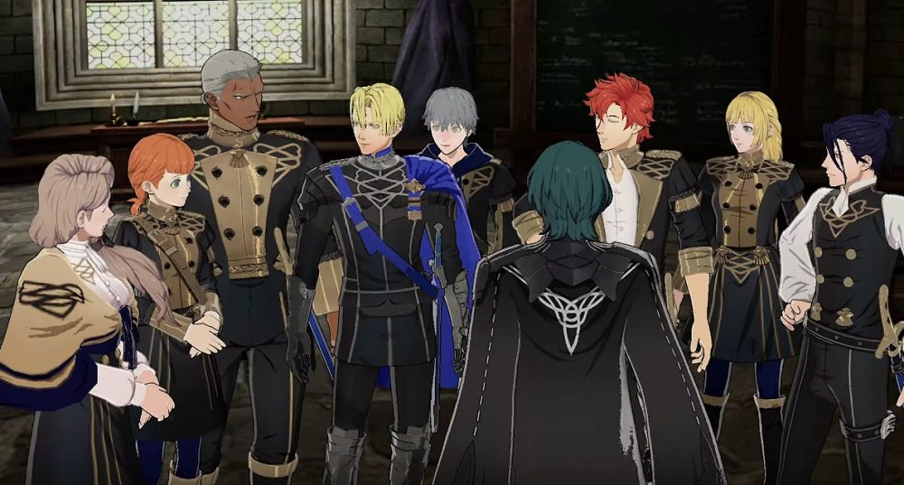 Will you roar with the Blue Lions in Fire Emblem: Three Houses? screenshot